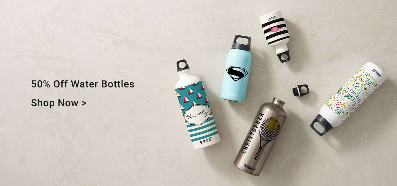 50% Off Water Bottles