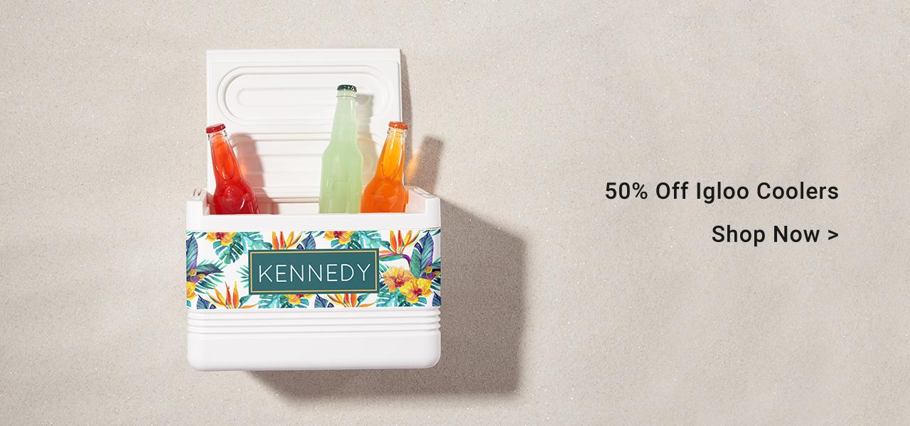 50% Off Igloo Coolers