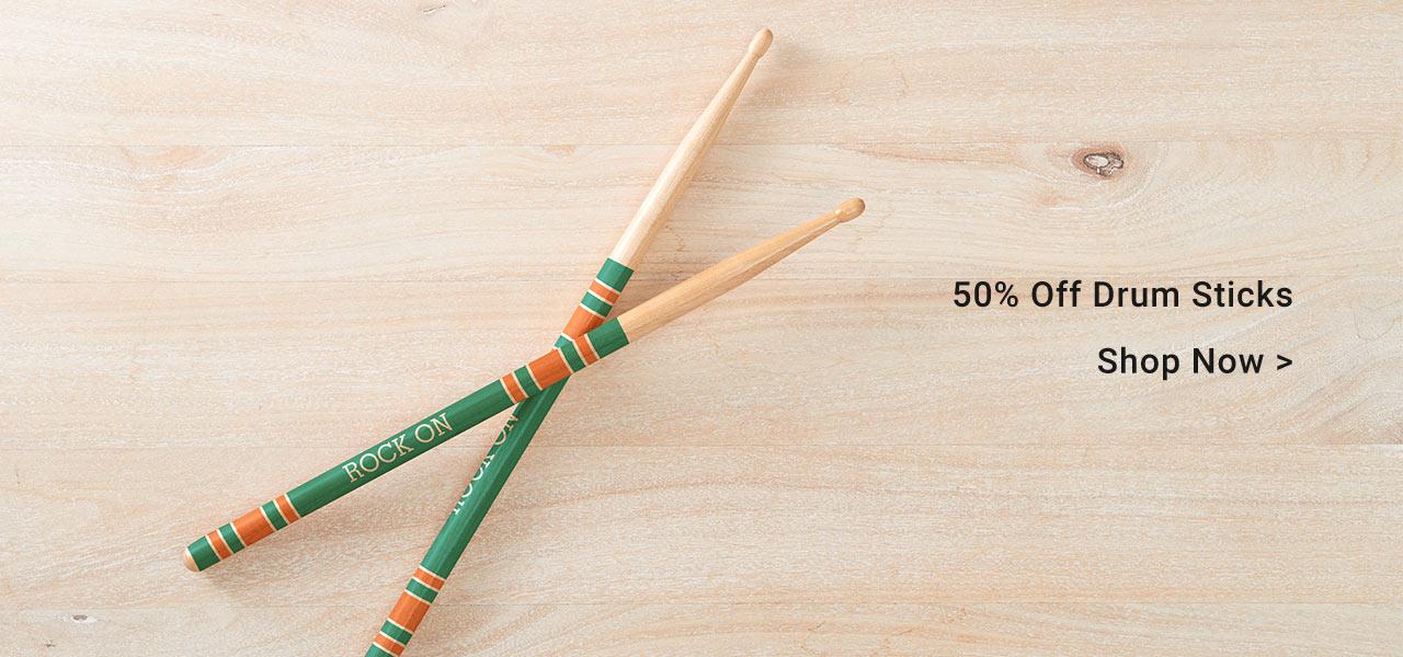 50% Off Drum Sticks
