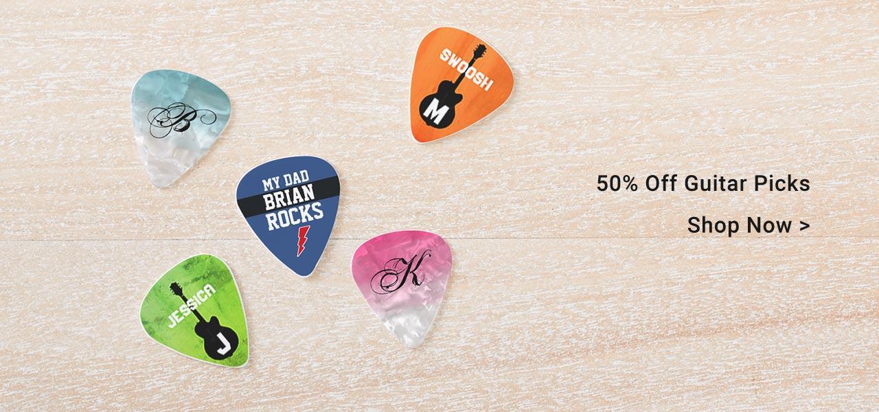50% Off Guitar Picks