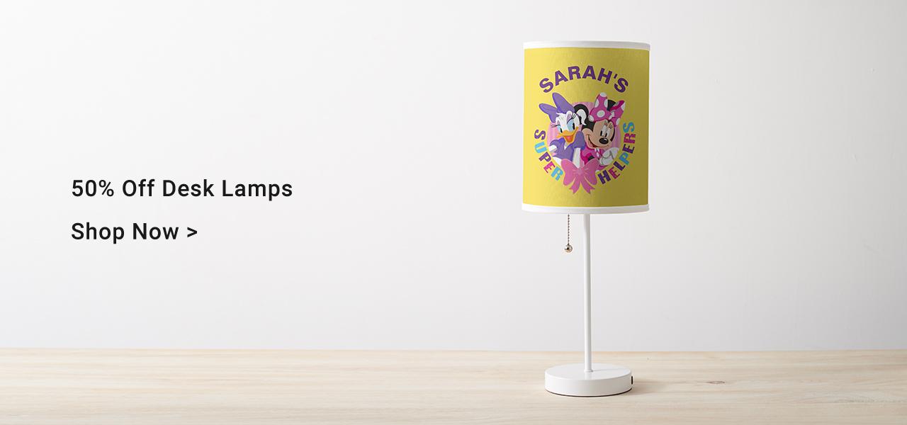 50% Off Desk Lamps