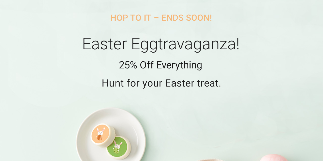 Happy Easter! Save with 25% Off Sitewide – USE CODE: EASTERTREATS – Ends Soon!