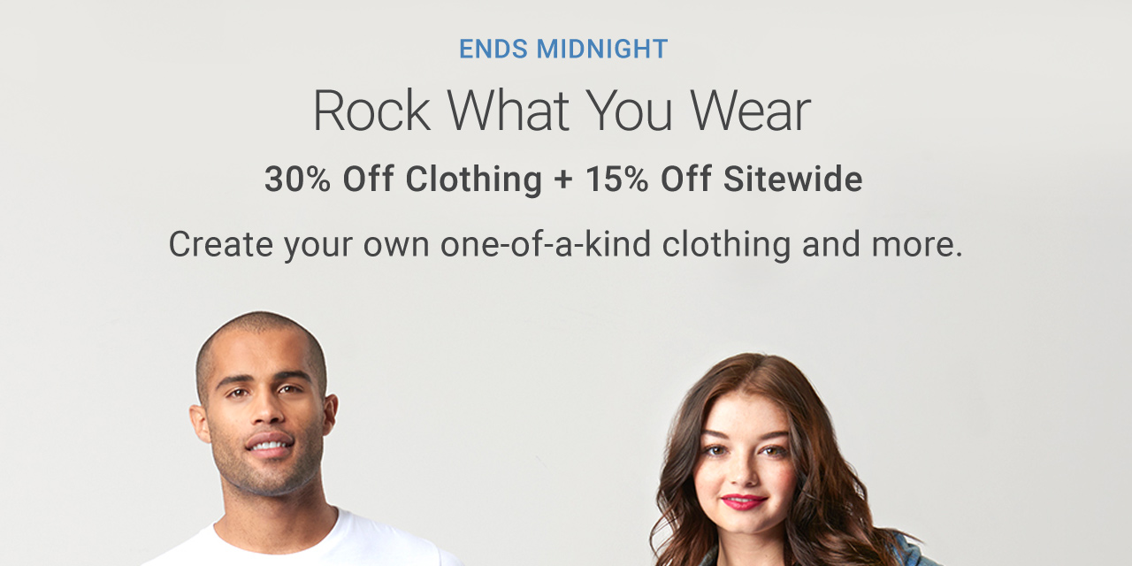 30% Off Clothing + 15% Off Sitewide | USE CODE: TSHIRTSNMORE