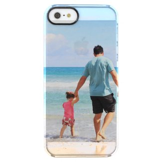 Add your own photo instagram Father's Day clear Clear iPhone SE/5/5s Case