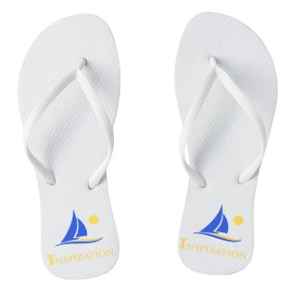 Custom Adult, Slim Straps Flip Flops