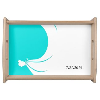 Bride's Souvenir Serving Tray
