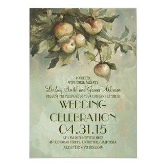 Apple Tree Wedding Invitation