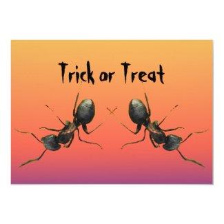 Halloween Ants Invitation
