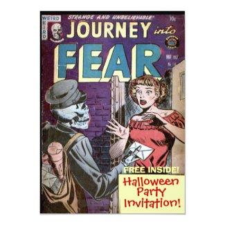 Halloween Comic Strip Invitation
