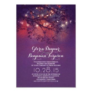 Tree Branch Wedding Invitation