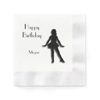 Tap Dancer Happy Birthday Napkin