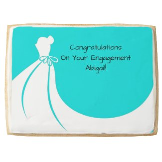 Bride To Be Congratulatory Cookie