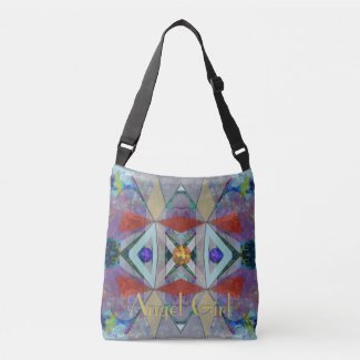 Triangles Stunning Abstract with Your Text Tote Bag