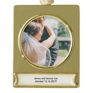 Couple's Wedding Souvenir Ornament
