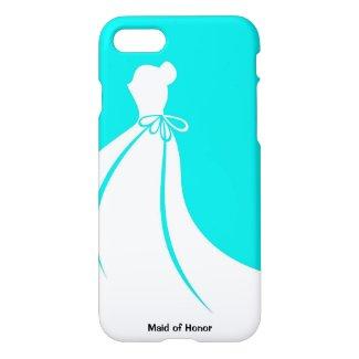 Maid of Honor, Bridesmaid, or Bride's iPhone7 Case