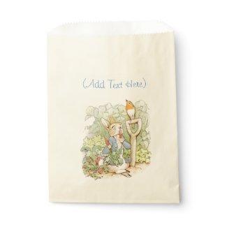Vintage Rabbit Fairy tale Art Candy Favor Bags
