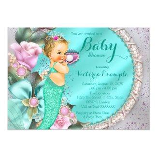 Mermaid Baby Shower Card