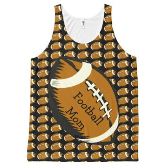 Football Mom Sports All-Over Print Tank Top