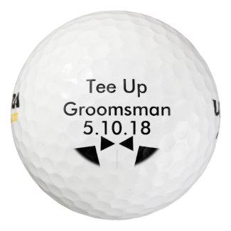 Groomsman Golf Ball Invite