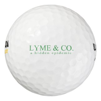 Lyme & Co. Logo | Lyme Disease Awareness Golf Balls