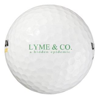 Lyme & Co. Logo | Lyme Disease Awareness Golf Balls