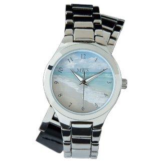 Relaxation Beach View Monogram Wrist Watch