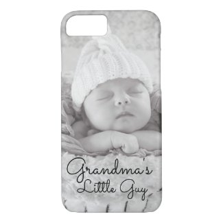 Grandma's Little Guy Photo Cell Phone Case