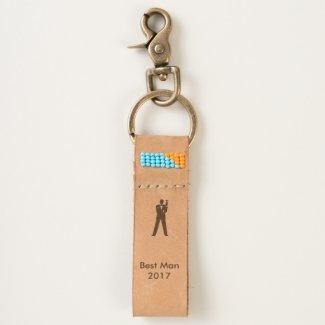 Best Man or Groomsman Keychain