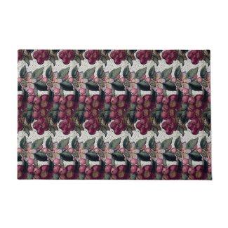 """Grapes and Blossoms 24"""" x 36"""" Door Mat Doormat"""