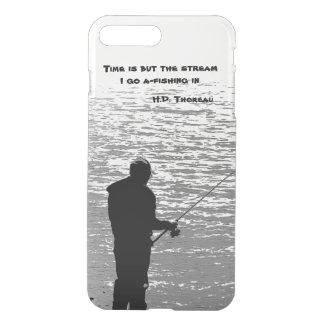 Thoreau Fishing Time Quotation iPhone 7 Plus Case
