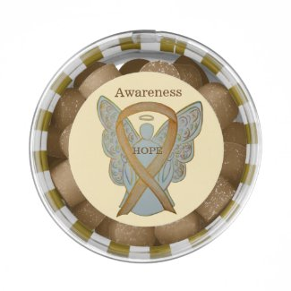 Childhood Cancer Awareness Gold Ribbon Gum Gifts