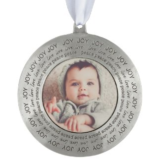 Personalize this Beautiful Christmas Ornament
