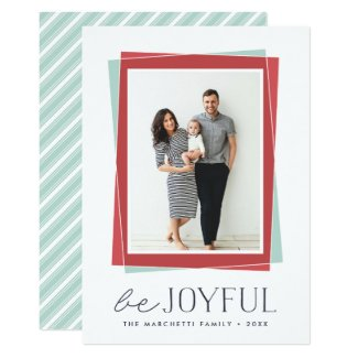 Joyful Symmetry | Holiday Photo Card
