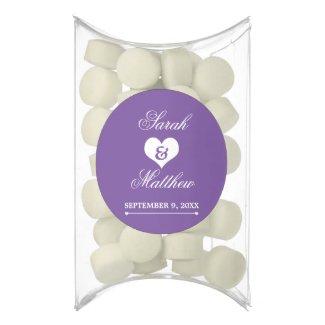 Heartline (Purple) Wedding Gum