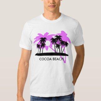 Cocoa Beach Florida Palm Trees T-shirt