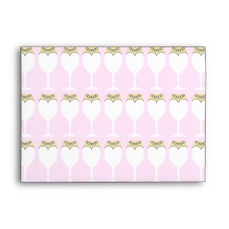Maid of Honor or Bridesmaid Invite Envelope