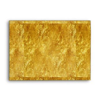 Solid Gold Invite Envelope