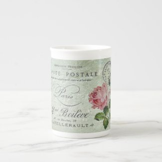 Petite Rose Confection Tea Cup