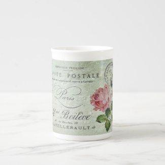 Petite Rose Confection Tea Cup