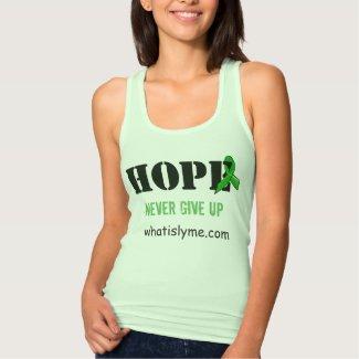 """""""Hope"""" Lyme Disease Awareness Tank Top"""