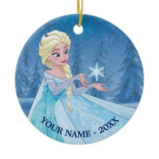 Elsa | Let it Go! Ceramic Ornament