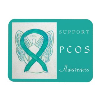 Polycystic Ovarian Syndrome Awareness Magnet