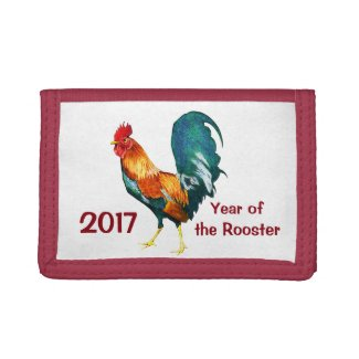 Chinese New Year of the Rooster 2017 Wallet