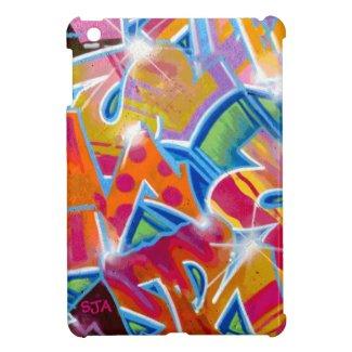 Colorful Graffiti Design iPad Mini Case