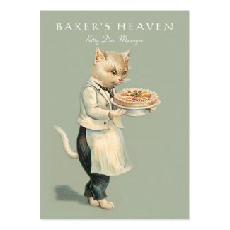 Bakery, Pastry Chef Card