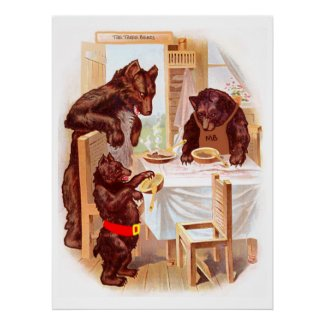 Goldilocks And The Three Bears Poster