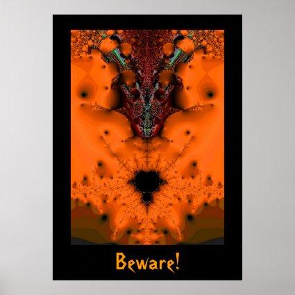 Halloween Voodoo Spirit Poster