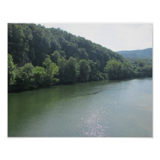 Tennessee River Park Poster