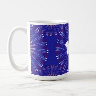 Patriot Coronas bold monogram Coffee Mug