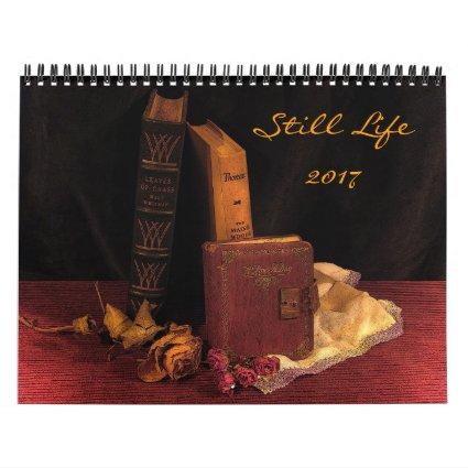 Still Life 2017 Artistic Wall Calendar